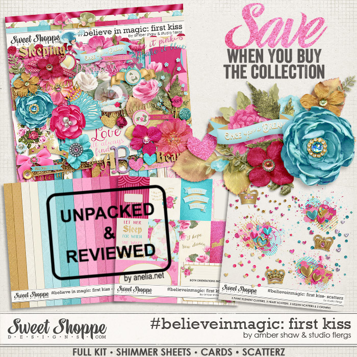 #believeinmagic: First Kiss Collection by Amber Shaw and Studio Flergs