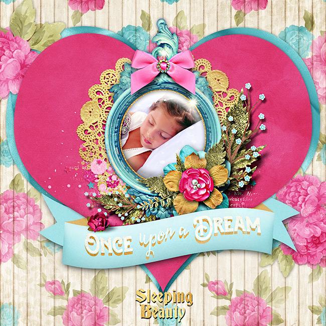 Sleeping beauty page